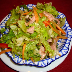 5 salade thai au boeuf